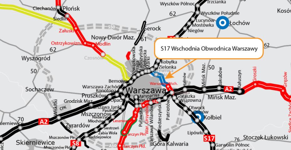 Wschodnia obwodnica Warszawy - S17